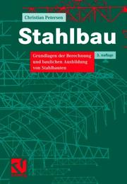 Cover of: Stahlbau