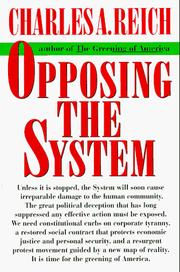 Cover of: Opposing the system