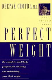 Cover of: Perfect weight