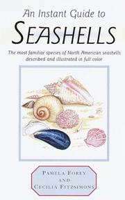 Cover of: Instant Guide to Seashells (Instant Guides) | Pamela Forey