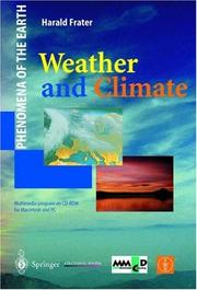 Cover of: Weather and Climate (Phenomena of the Earth) | Harald Frater