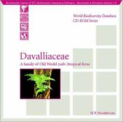 Cover of: Davalliaceae | H. P. Nooteboom