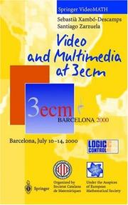 Cover of: Video and Multimedia at 3ecm | Sebastia Xambo-Descamps