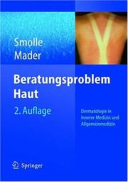 Cover of: Beratungsproblem haut by