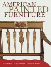 Cover of: American painted furniture 1790-1880