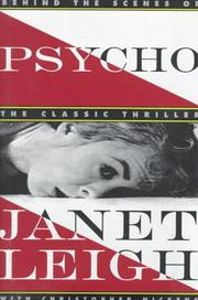 Cover of: Psycho | Janet Leigh, Christopher Nickens