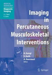 Cover of: Imaging in Percutaneous Musculoskeletal Interventions (Medical Radiology / Diagnostic Imaging) |