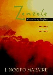 Cover of: Zenzele | J. Nozipo Maraire
