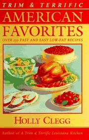 Cover of: Trim & terrific American favorites
