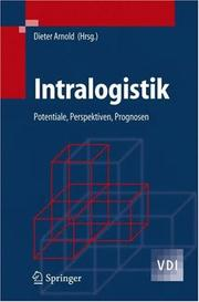 Intralogistik by Dieter Arnold