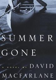 Cover of: Summer gone