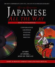 Cover of: Living Language (TM) Japanese All the Way (TM) CD/Book