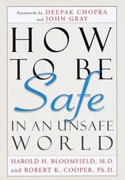 Cover of: How to be safe in an unsafe world