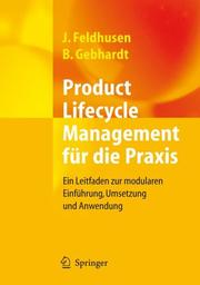 Cover of: Product-Lifecycle-Management fu r die Praxis by