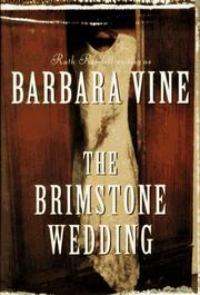 Cover of: The brimstone wedding | Barbara Vine