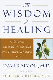 Cover of: The wisdom of healing