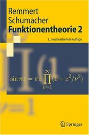 Cover of: Funktionentheorie |