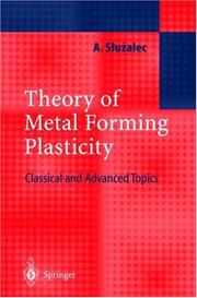 Cover of: Theory of Metal Forming Plasticity