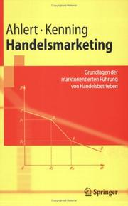 Cover of: Handelsmarketing |
