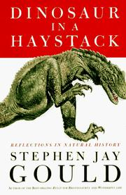 Cover of: Dinosaur in a haystack | Stephen Jay Gould