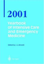 Cover of: Year Book of Intensive Care and Emergency Medicine (Yearbook of Intensive Care & Emergency Medicine)