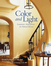 Cover of: Color and light