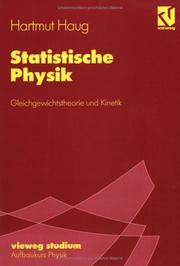 Cover of: Statistische Physik