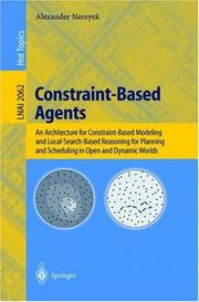 Constraint-Based Agents by Alexander Nareyek