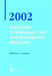 Cover of: Yearbook of Intensive Care and Emergency Medicine / Annual volumes 2002 (Yearbook of Intensive Care and Emergency Medicine)