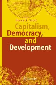 Cover of: Capitalism, Democracy, and Development