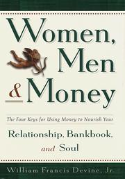 Cover of: Women, men & money