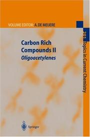 Cover of: Carbon Rich Compounds II | Armin de Meijere