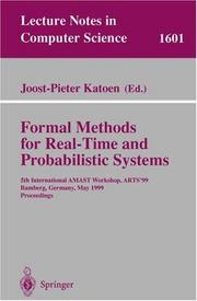 Formal Methods for Real-Time and Probabilistic Systems