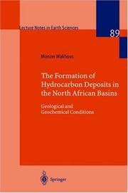 Cover of: Formation of Hydrocarbon Deposits in the Northern African Basins | Monzer Makhous