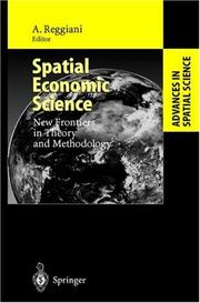 Cover of: Spatial Economic Science | Aura Reggiani