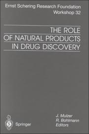 Cover of: The Role of Natural Products in Drug Discovery | J Mulzer