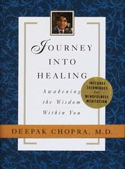 Cover of: Journey into Healing: awakening the wisdom within you