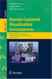 Cover of: Human-Centered Visualization Environments |