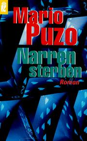 Cover of: Narren sterben