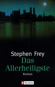 Cover of: Das Allerheiligste