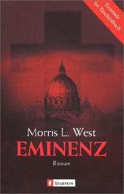 Cover of: Die Eminenz