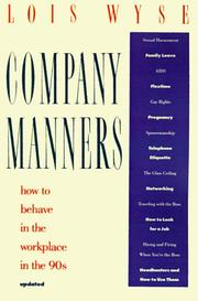 Cover of: Company Manners