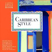 Cover of: Caribbean style |