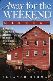 Cover of: Away for the weekend, Midwest
