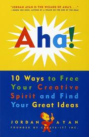 Cover of: Aha!