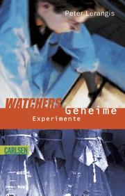 Cover of: Watchers. Geheime Experimente