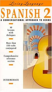 Cover of: Living language: a conversational approach to verbs