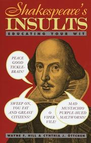 Cover of: Shakespeare's Insults