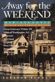 Cover of: Away for the weekend, Mid-Atlantic