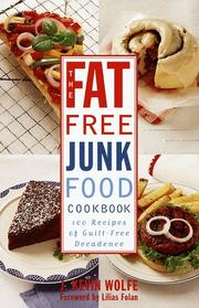 Cover of: The fat-free junkfood cookbook